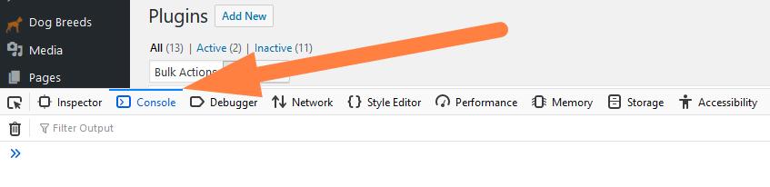 wordpress google analytics script split by paragraph tags